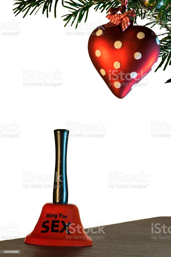 Sexy Christmas stock photo
