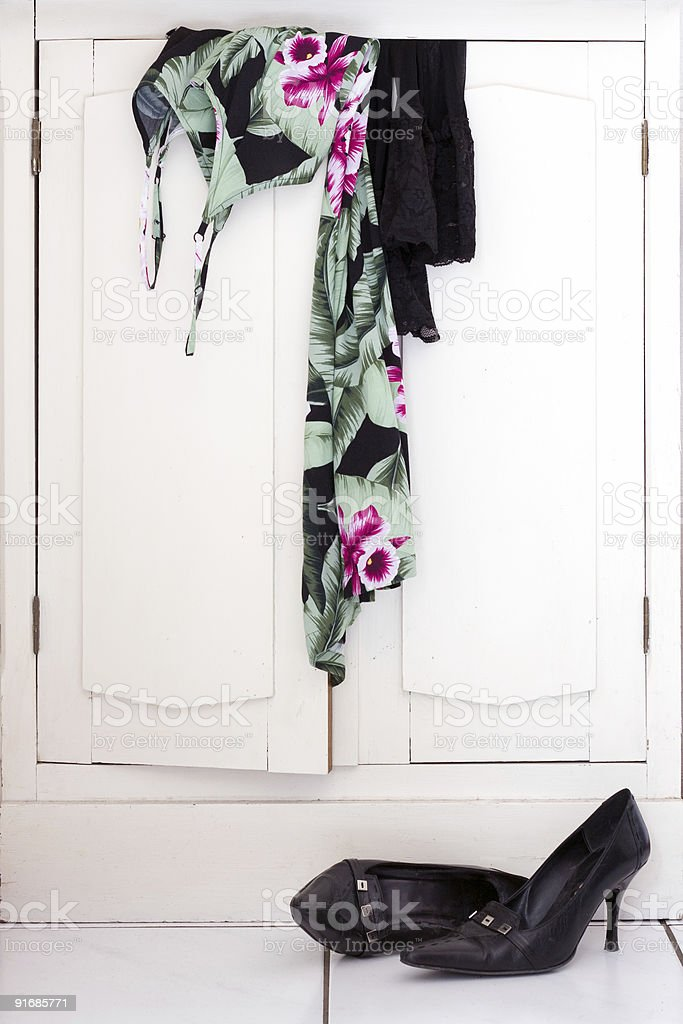 Sexy clothes Undress royalty-free stock photo