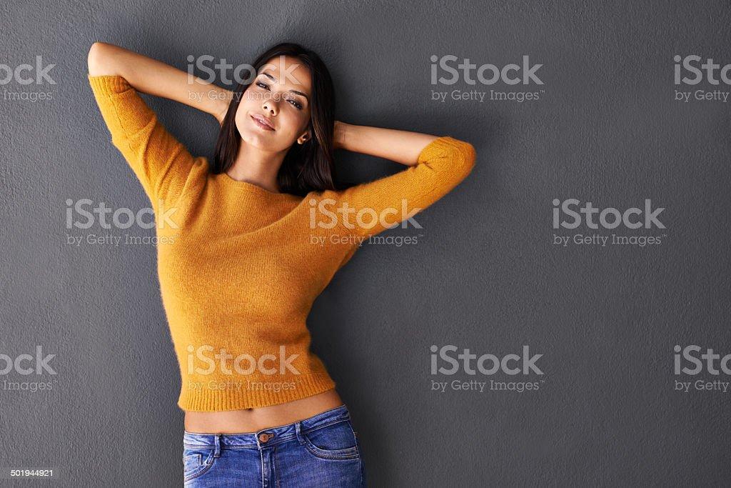 Sexy confidence stock photo