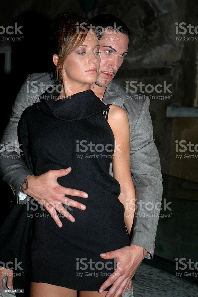 Sexy couple stock photo