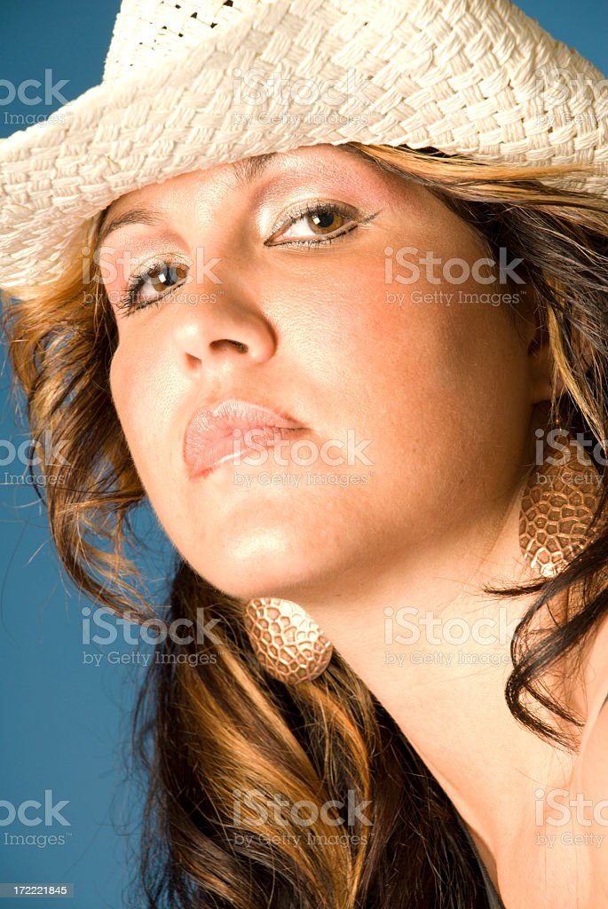 Sexy Cowgirl (series) stock photo