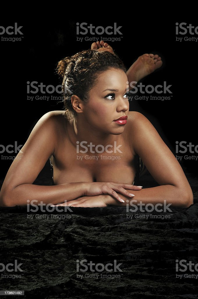 Sexy Ethnic Model royalty-free stock photo