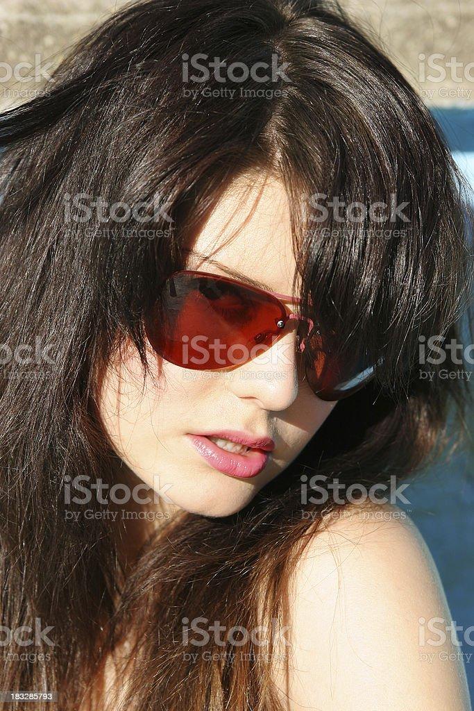 Sexy Face royalty-free stock photo