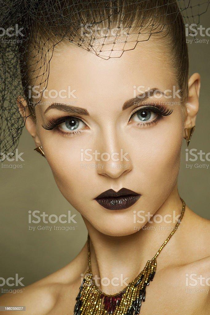 Sexy fashion girl royalty-free stock photo