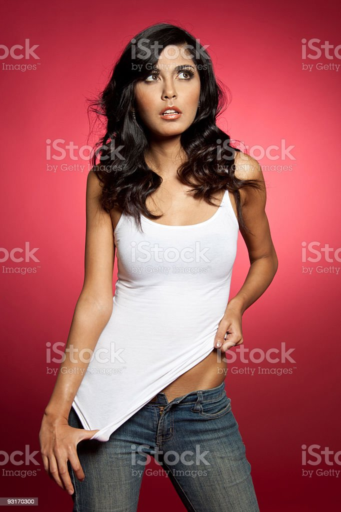 Sexy fashion model royalty-free stock photo