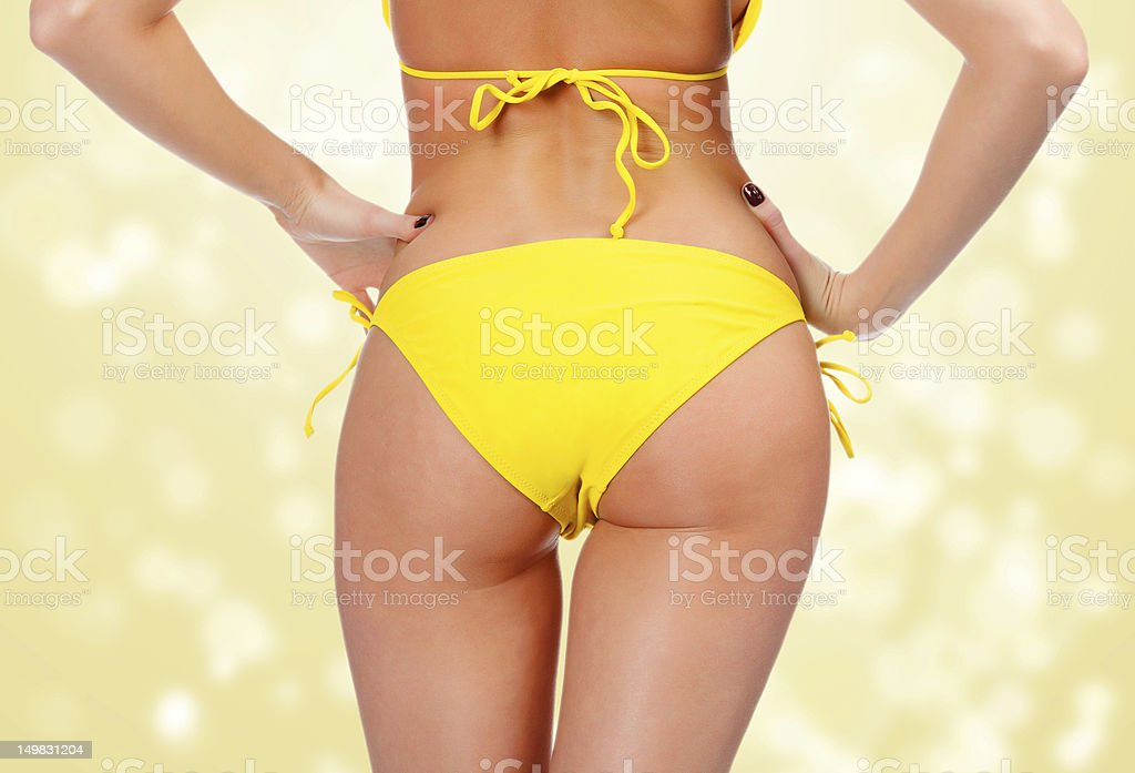 Sexy female backside royalty-free stock photo