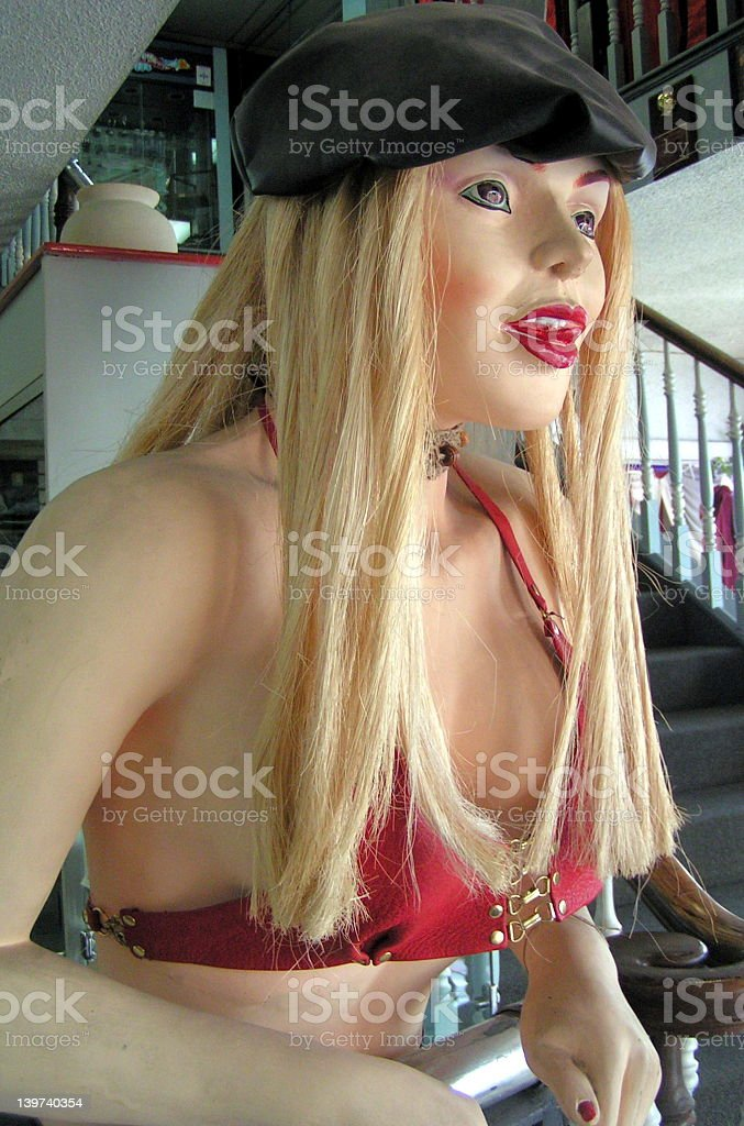 Sexy Female Mannequin royalty-free stock photo