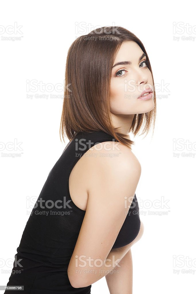 sexy female stock photo