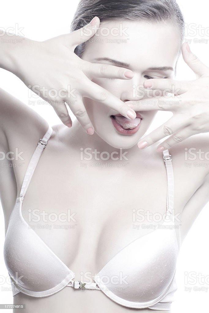 sexy femme photo libre de droits