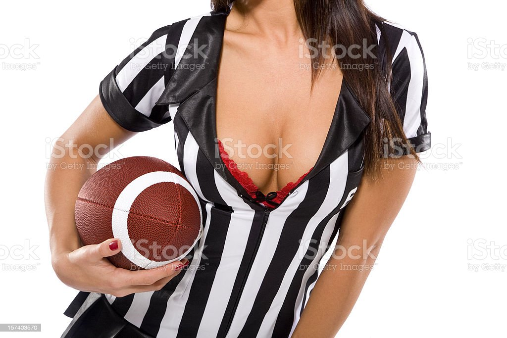Sexy Football royalty-free stock photo