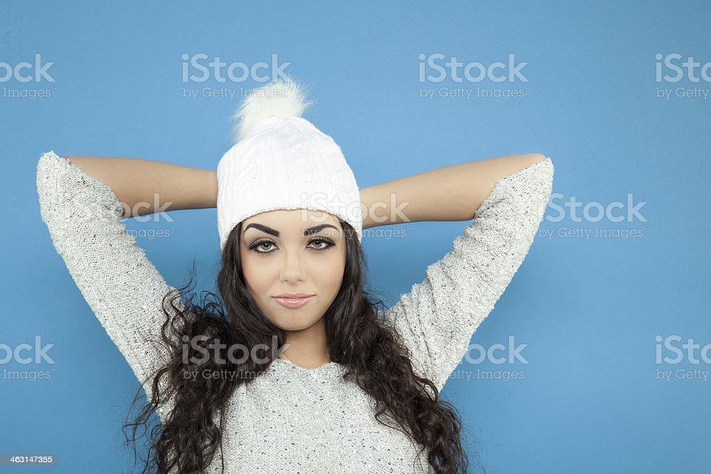 Sexy girl stock photo