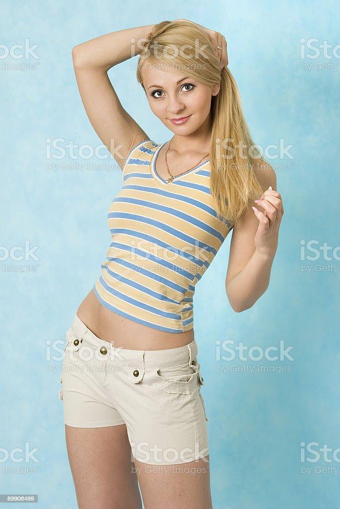 Sexy girl. royalty-free stock photo