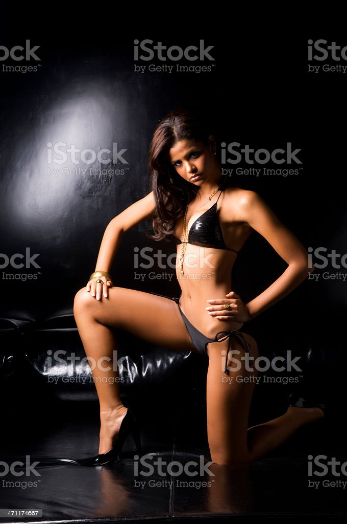 sexy girl with bikini royalty-free stock photo
