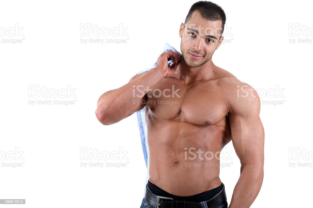 Sexy guy royalty-free stock photo