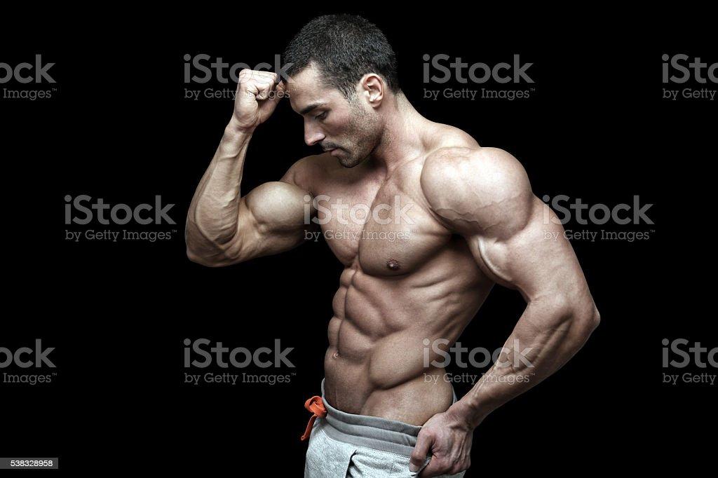 Sexy guy stock photo