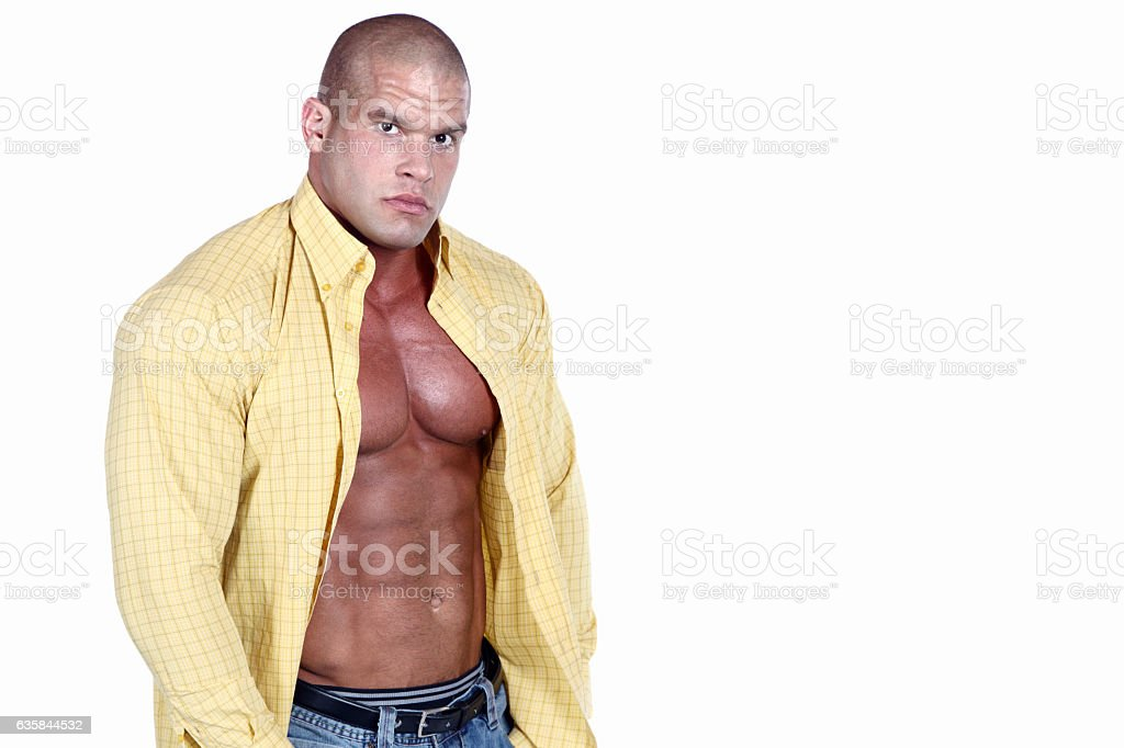 Sexy guy stock photo