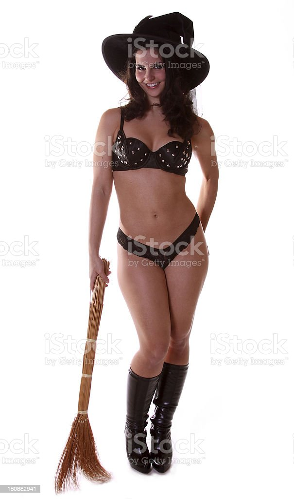 Sexy Halloween Witch royalty-free stock photo