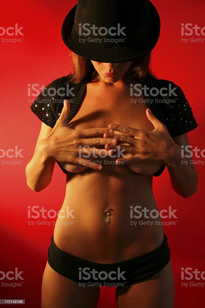 Sexy Hat royalty-free stock photo