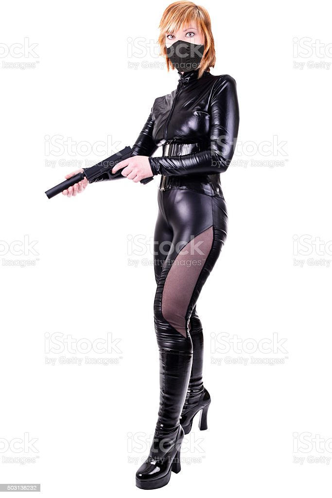 Sexy killer stock photo