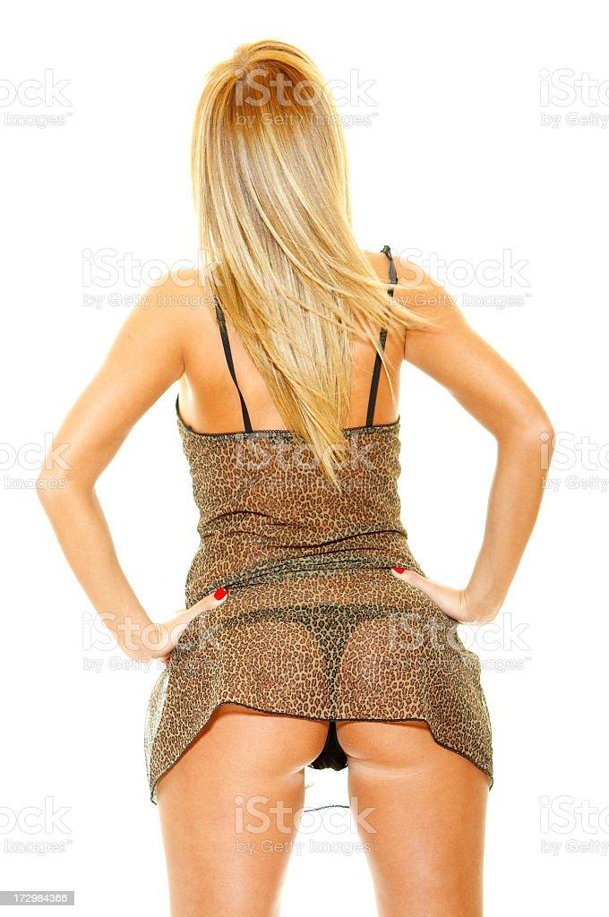 Sexy lady royalty-free stock photo