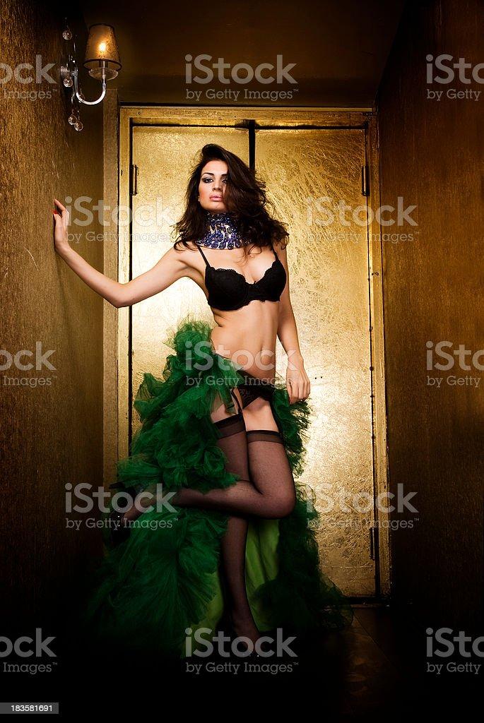 Sexy Latina royalty-free stock photo