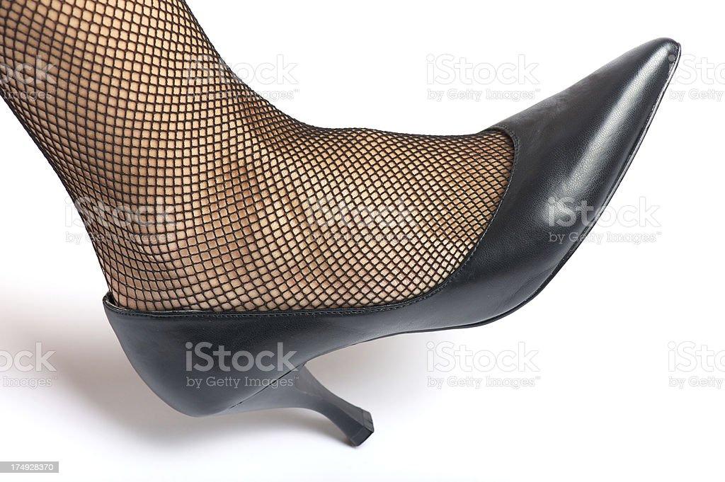 Sexy leg royalty-free stock photo