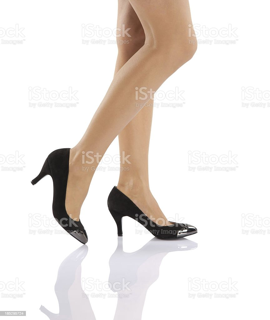 Sexy Legs With High Heels stock photo