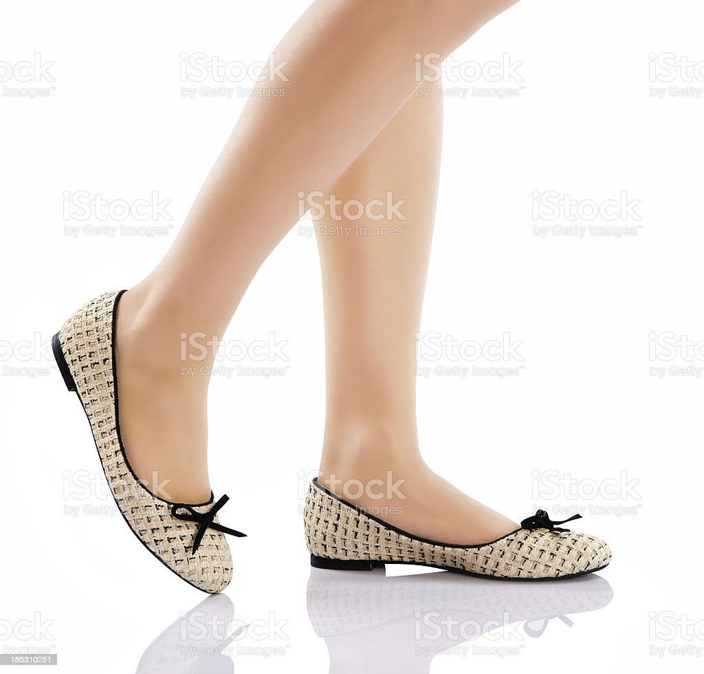 Sexy Legs With High Heels royalty-free stock photo