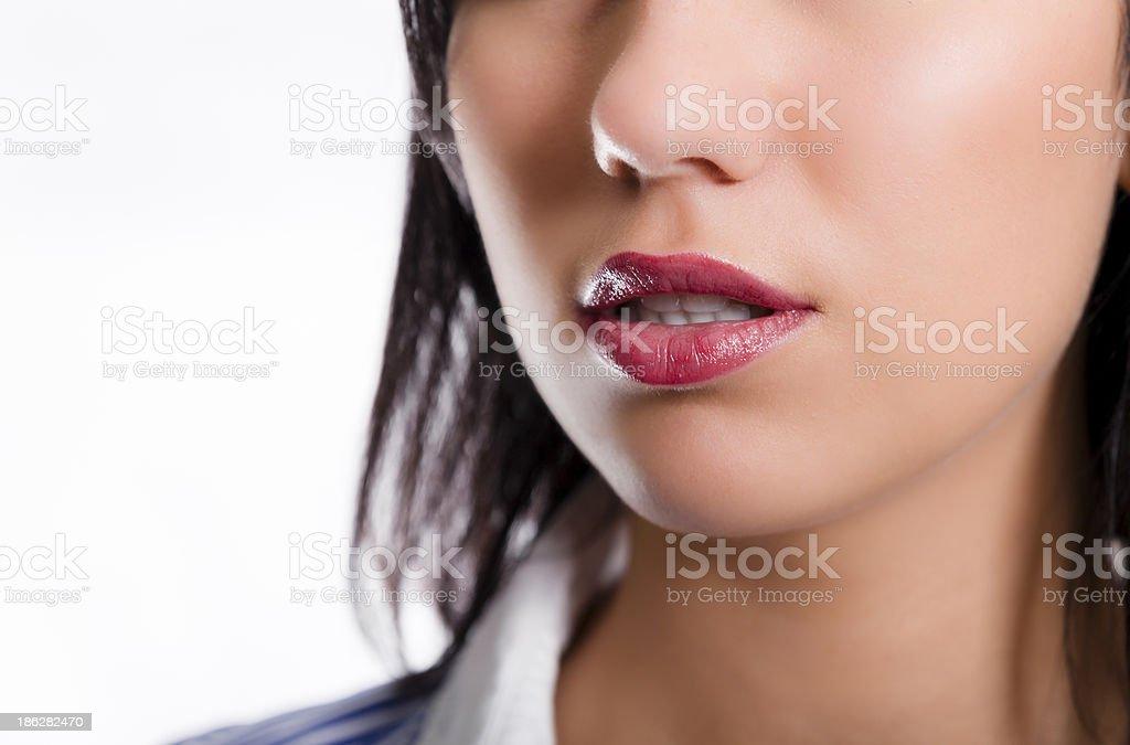 Sexy lips royalty-free stock photo