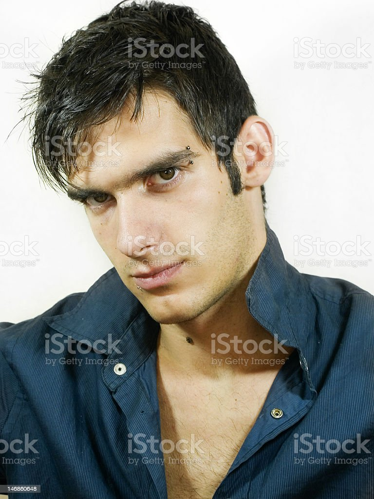 Sexy looking man royalty-free stock photo