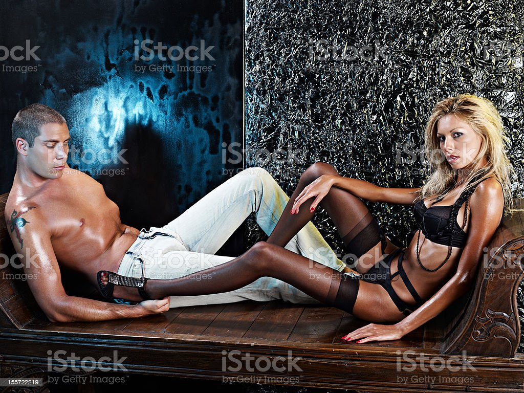 Sexy Lovers royalty-free stock photo