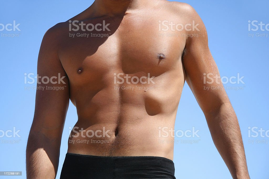 Sexy Man Body royalty-free stock photo