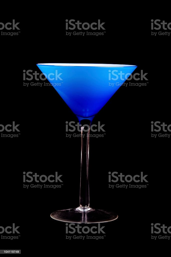 Sexy Martini Glass royalty-free stock photo