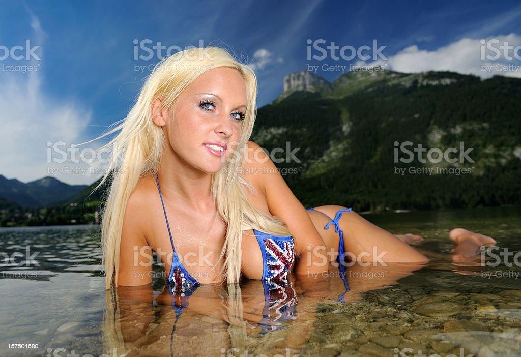 Sexy Mermaid Pin-up (XXXL) royalty-free stock photo