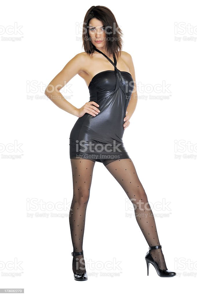 Sexy model royalty-free stock photo
