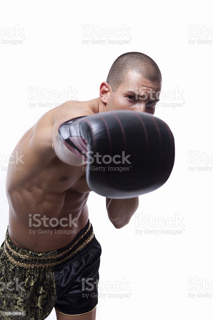 Sexy muscle young man stock photo