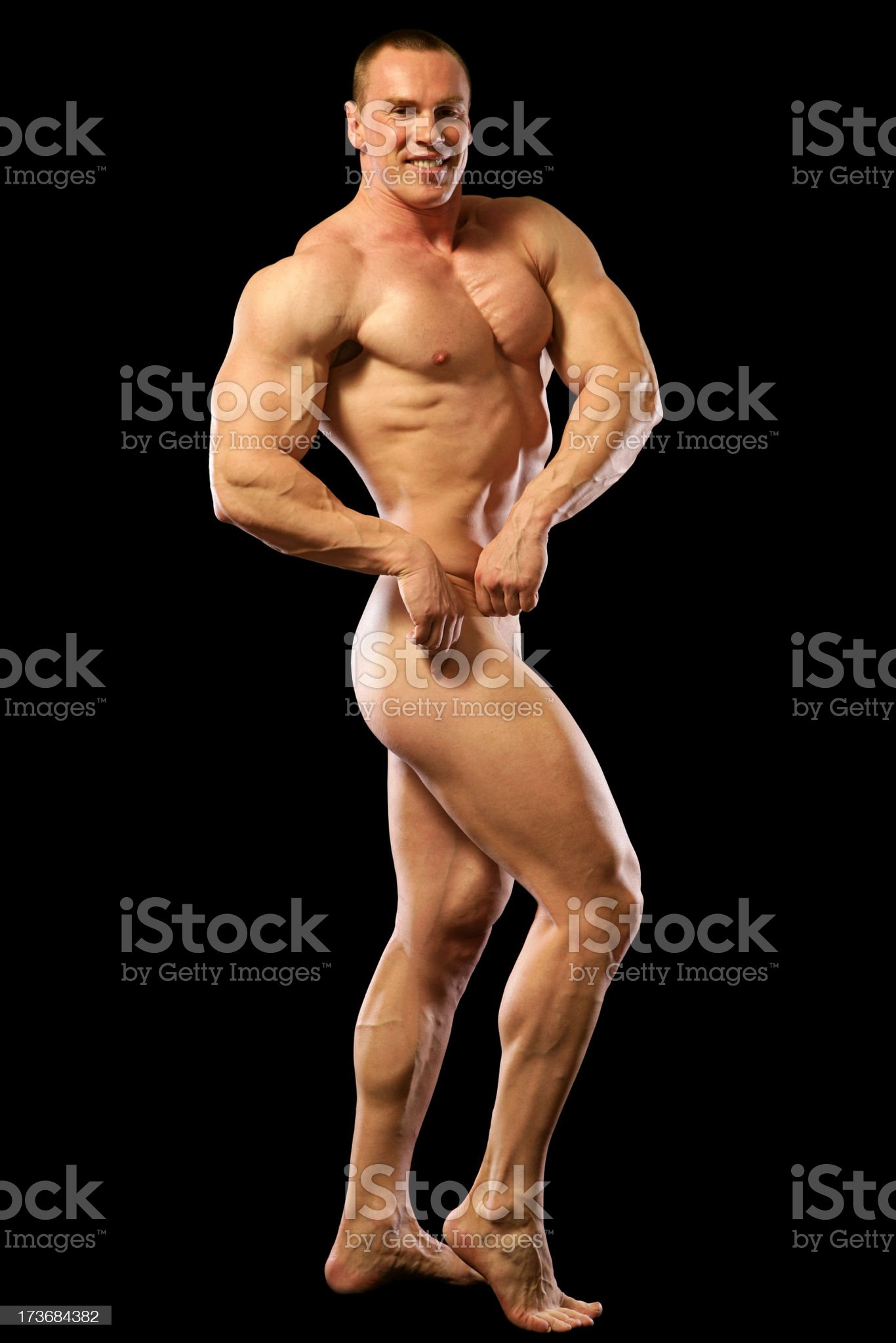 Sexy Muscles (XXL) royalty-free stock photo