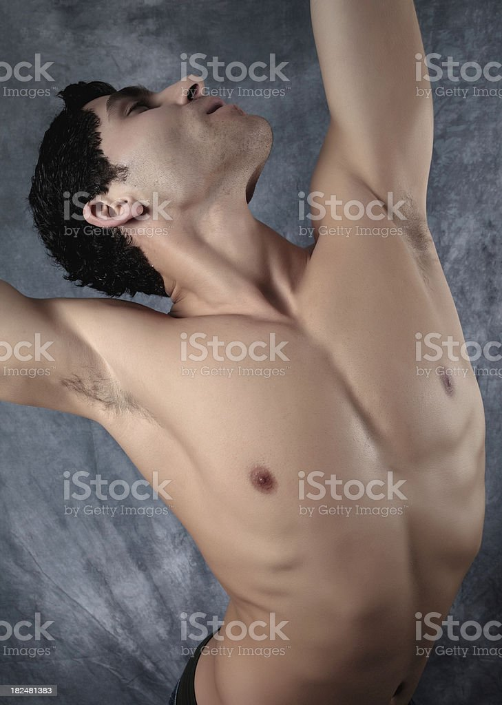 Sexy Muscular Man royalty-free stock photo