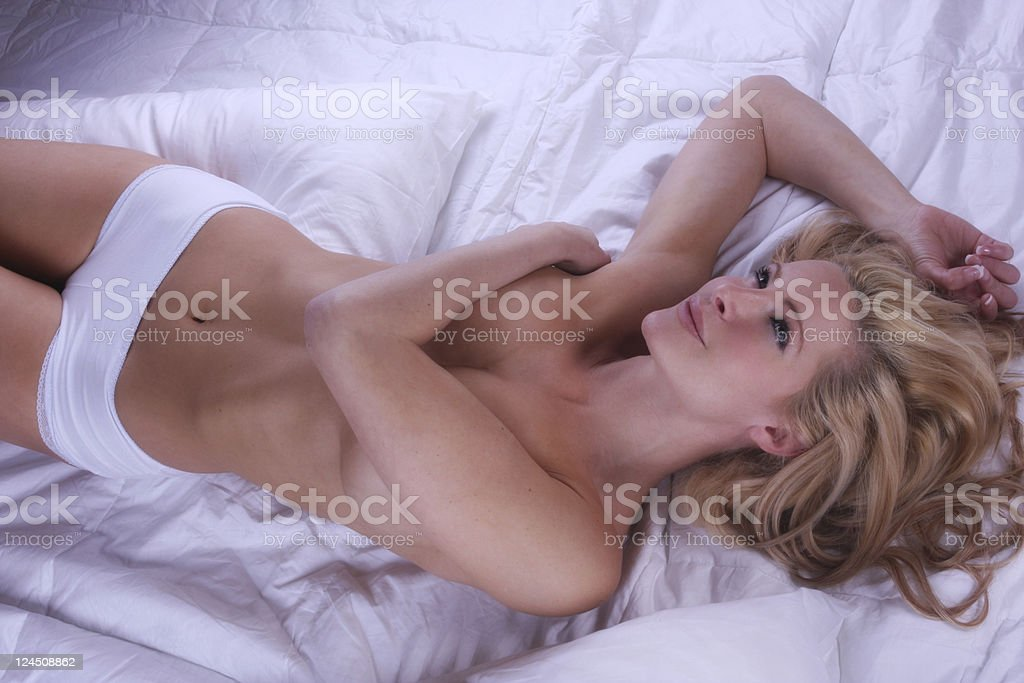 sexy naked woman royalty-free stock photo