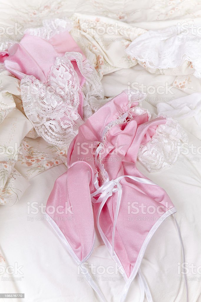 Sexy panties and baby-doll royalty-free stock photo