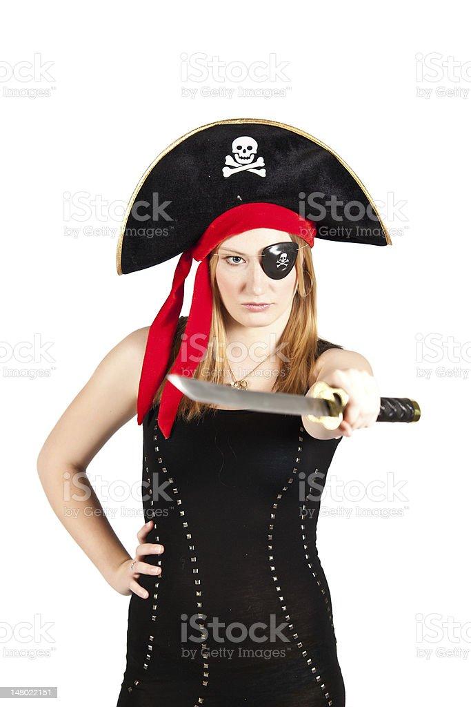 Sexy Pirate stock photo