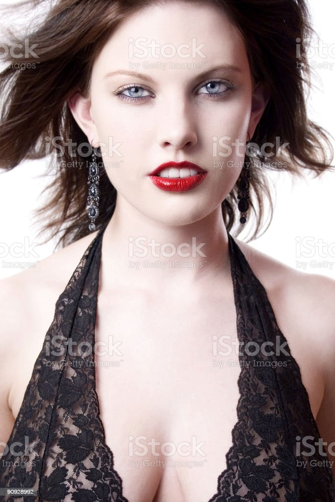 Sexy portrait royalty-free stock photo