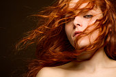 Sexy Redhead Woman
