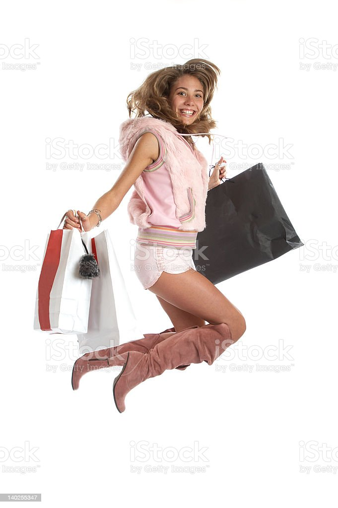Sexy Shopping royalty-free stock photo
