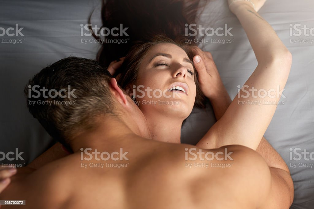 Sexy, steamy, lovemaking sessions stock photo