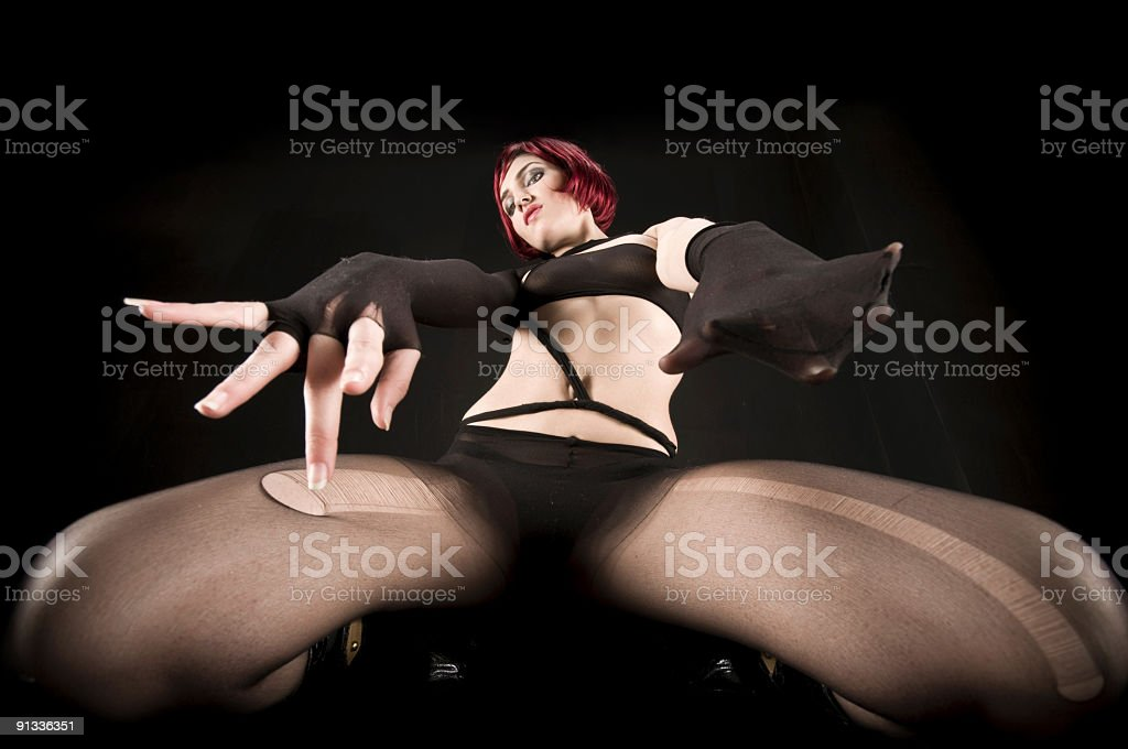 sexy stripper royalty-free stock photo