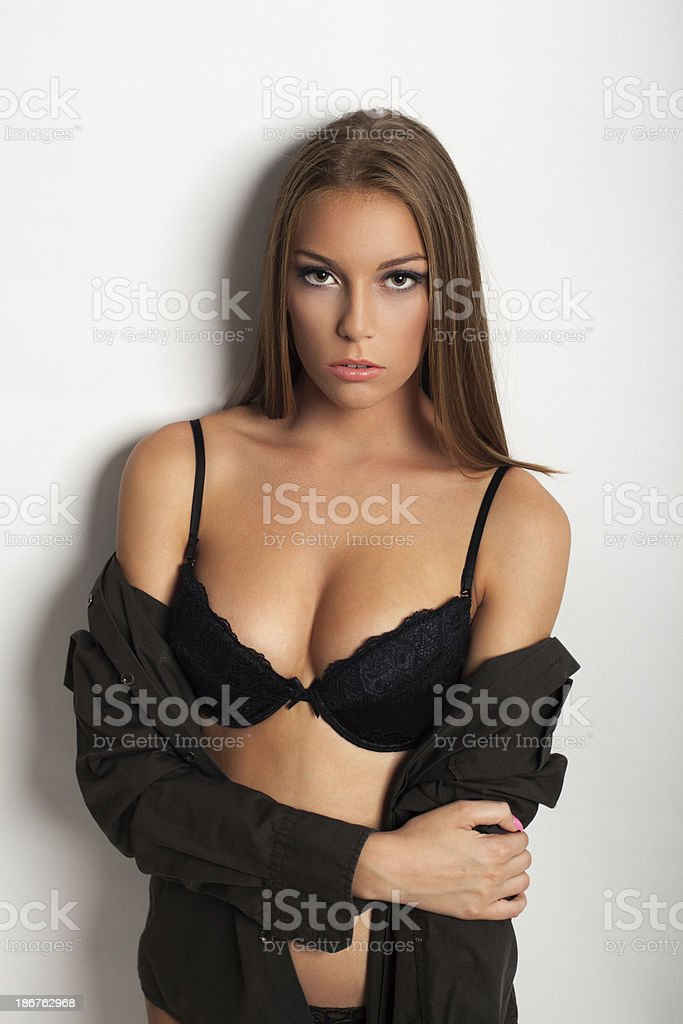 Sexy woman posing royalty-free stock photo