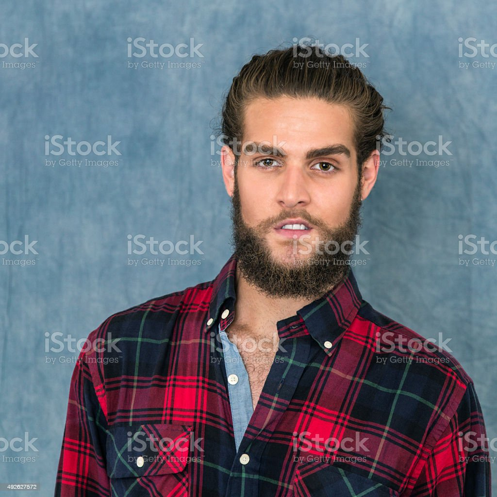 Sexy Young Guy Portrait stock photo
