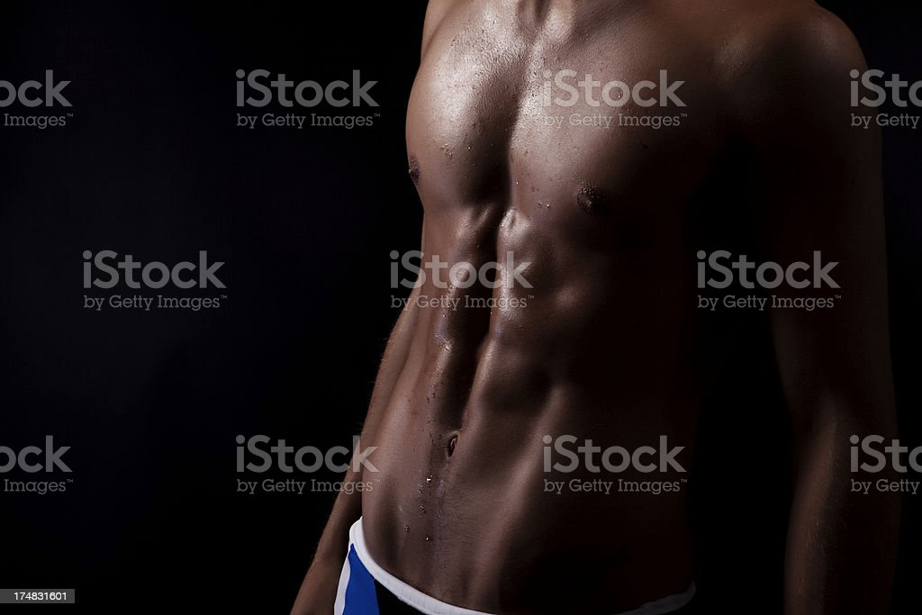 Sexy Young Man Body royalty-free stock photo