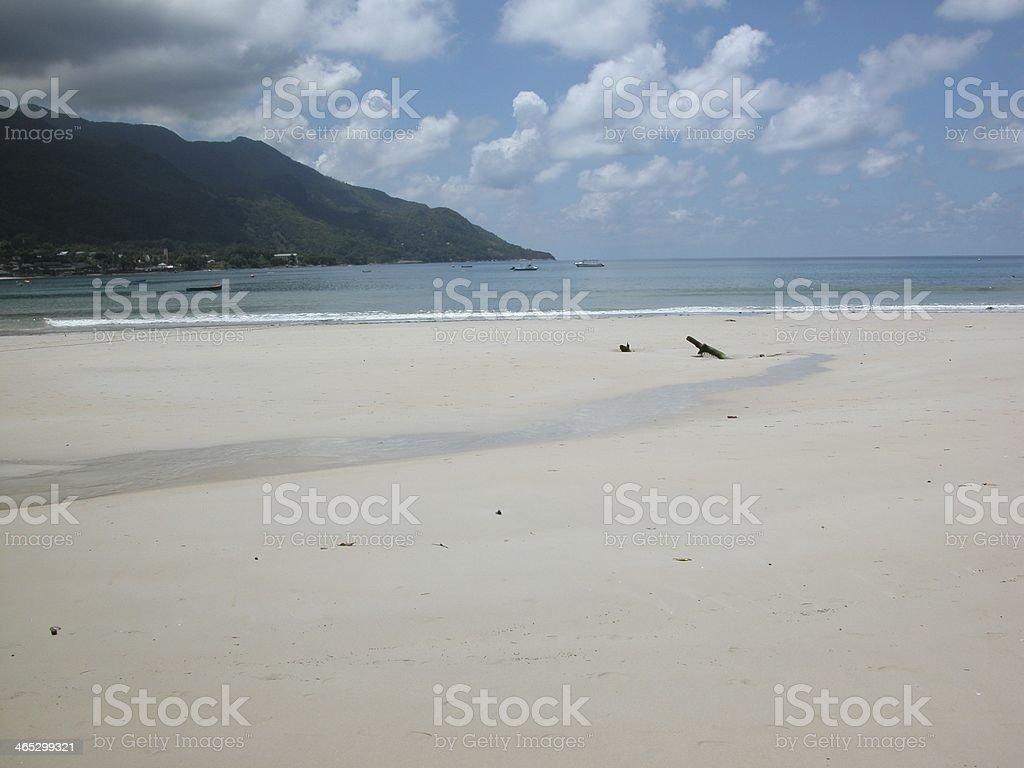 Seychelles - Seychellen Meerblick stock photo